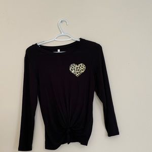 Occasion Black long sleeve T